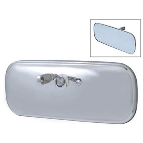 60-71 Chevy & GMC Pickup Truck Stainless Inside Interior Rear View Glass Mirror