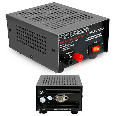 Pyramid Ps3kx Linear Regulated Bench Power Supply Ac-to-dc Power Converter