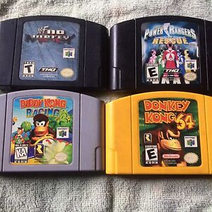 I am selling N64 games  will sell them all for $50