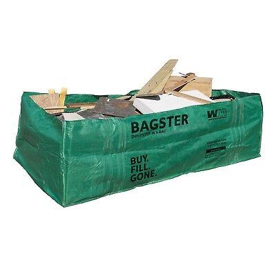 Bagster 3cuyd Dumpster In A Bag - 8 X 4 X 2 6 - 3300lb Max - 606 Gallon Cap.