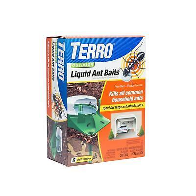 Terro Outdoor Liquid Ant Bug Control Killer Poison Bait Stations Traps