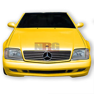 Mercedes benz front bumper sl500 ebay for 1999 mercedes benz e320 front bumper