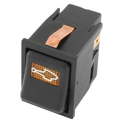 Classic Mini Car 16Amp Off-On-On WASHER Illuminated Rocker/Dashboard Switch