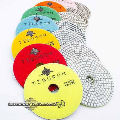 Diamond Polishing Pads 4 Inch Best Quality 3mm Thick Granite Marble Stone Tile