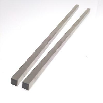 2pcs 6 X 6 X 200mm Square Blades High Speed Steel Bar Handy Lathe Hss Tool Bit