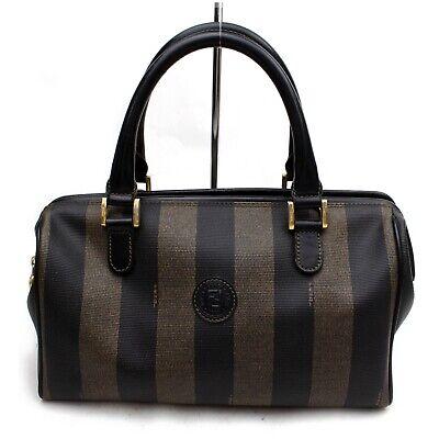 Fendi Hand Bag  Black PVC 1211579