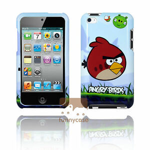 For iPod Touch 4 4th Gen Disney Cartoon Character Movie Figures Hard Case Cover