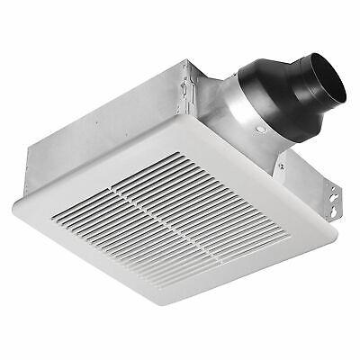 Delta BreezSlim SLM100 4 Inch Quiet Bathroom Exhaust Fan, Ceiling or Wall Mount