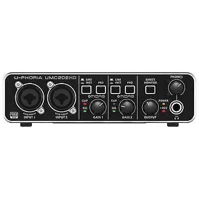 Behringer U-PHORIA UMC202HD USB Audio Interface