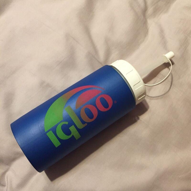 Vintage Igloo Little Squiggy Insulated Sport Bottle Water Bottle 16 Oz Radwood