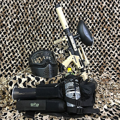 NEW Tippmann Cronus Tactical EPIC Paintball Marker Gun Package Kit - Tan/Black