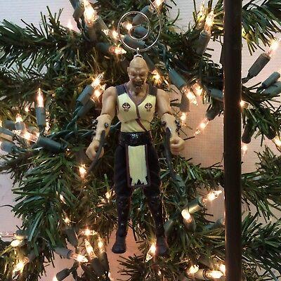 NEW‼ Mortal Kombat Jazwares Action Figure BARAKA Custom Christmas Ornament  - Baraka Mortal Kombat