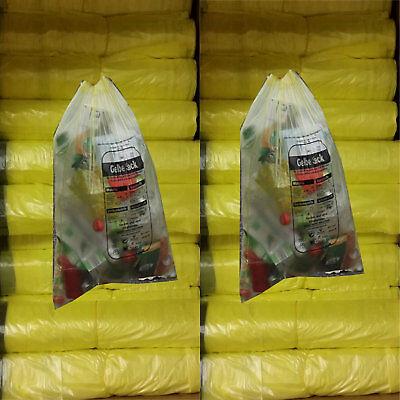 Gelbe Säcke 10 Rollen 130 Stück gelber Sack Müll Beutel Müllsäcke Angebot Neu  Gelbe 10