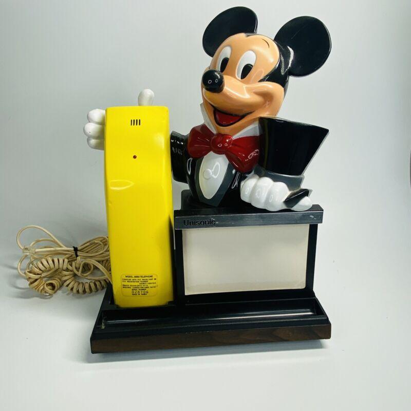 UNISONIC Walt Disney MICKEY MOUSE PHONE Model 6050  #022515 (SH)