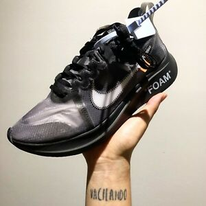 OFF WHITE X NIKE ZOOM FLY US8