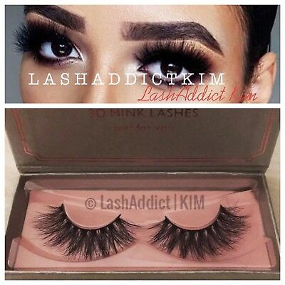 ( MYKONOS ) MINK Lashes Siberian Eyelashes 3D Makeup Fur New Extension US SELLER