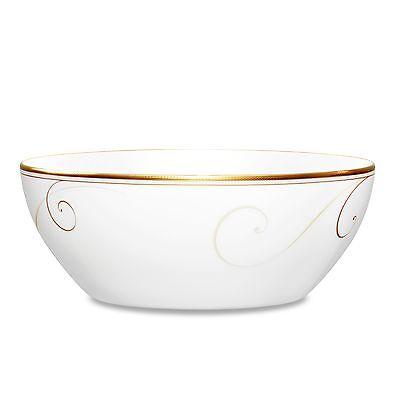 Noritake Golden Wave Small Round Vegetable Bowls, Set of 2