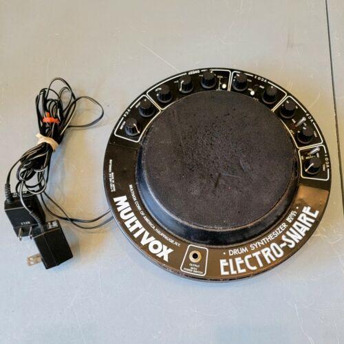 1982 Multivox MX-57 Electro-Snare Analog Synthesizer Drum Pad