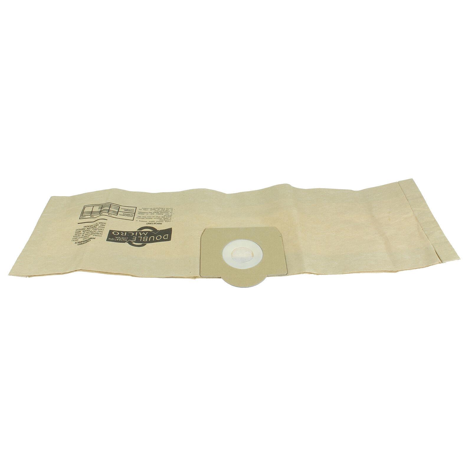 12 sacs poussière pour Parkside PNTS 1250 Sacs pour Aspirateur Filtre-Sacs Sachet