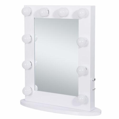 Hollywood Makeup Vanity Mirror Wall Mounted Light  12 LED Bulbs Bedroom White Health & Beauty