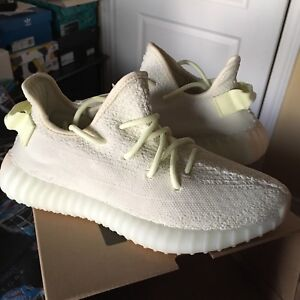DS Adidas Yeezy Boost 350 V2, Butter, SIZE 6, 12, 13