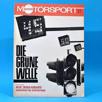 DDR Illustrierter Motorsport IMS 2 1971 Skoda 1100 GT Carruthers P. Friedrichs K