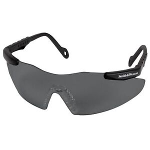 Smith & Wesson(R) 19823 MAGNUM Smoke Safety Glasses, Scratch-Resistant Frameless
