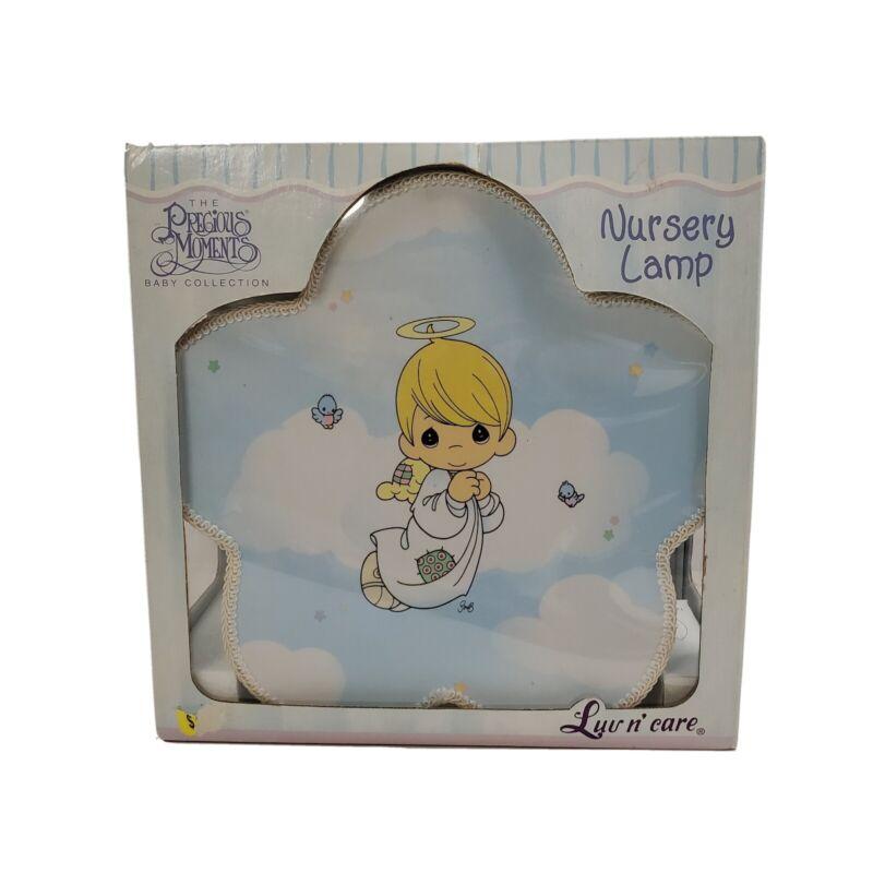 Precious Moments Luv N' Care Nursery Lamp Cloud Light New