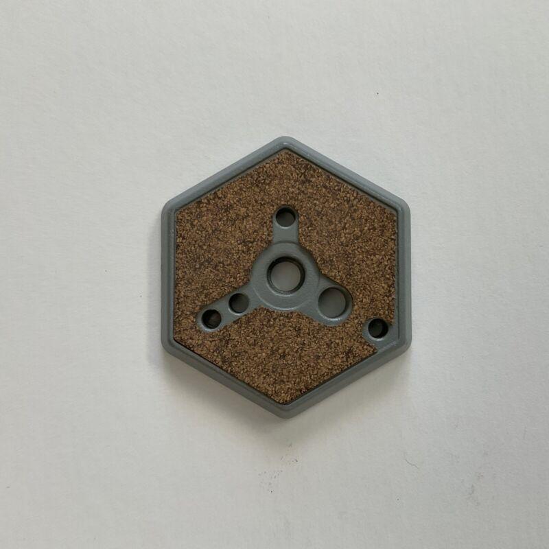 "Manfrotto 3/8"" Flush Mount Hexagonal Quick Release Plate"