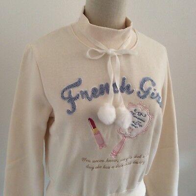 LIZ LISA Sweatshirt Pullover Fleece Kawaii Japan Gyaru Himekaji Lolita #1538