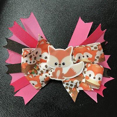 Fox hair bow