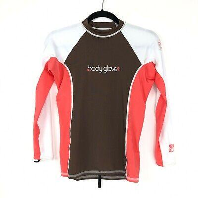 Body Glove Womens Cross-Over Bora Long Sleeve Rashguard Black X-Large
