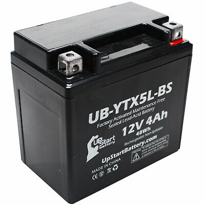 Battery for 2003 - 2014 Honda CRF230F, L (-'07) 230CC