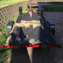 4x7 Easy trailer + 2 motorbike chocks Cooroy Noosa Area Preview