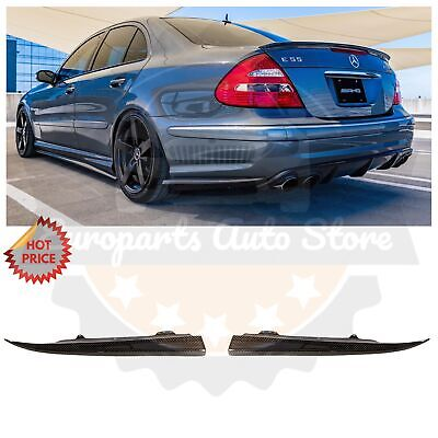 Used, MERCEDES BENZ W211 E55 E63 AMG CARBON FIBER REAR SPLITTERS FOR 2003-2009 SEDAN for sale  Pomona