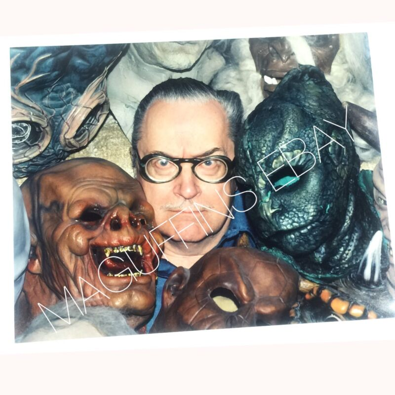 FORRY ACKERMAN 8x10 FAMOUS MONSTERS PHOTO (FROM THE FJA COLLECTION)