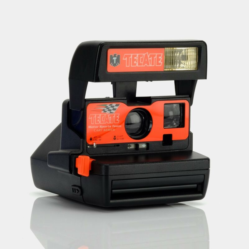 Polaroid 600 Tecate Racing Instant Film Camera