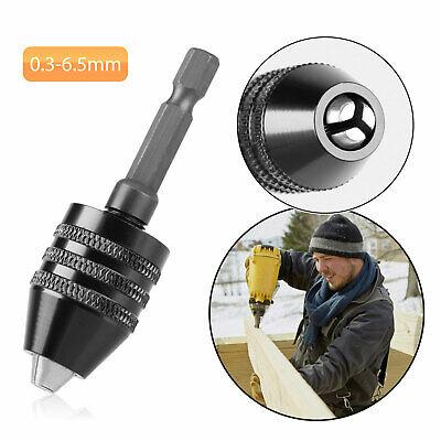14 Keyless Chuck Conversion Hex Shank Adapter Drill Bit Quick Change Driver
