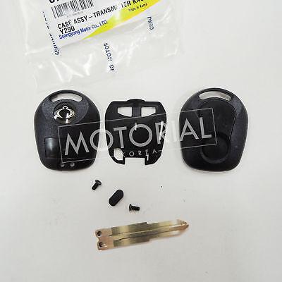 Sports OEM Key Plate /& Case Ssangyong Actyon Kyron Rxton 06-10 #8717A08D10