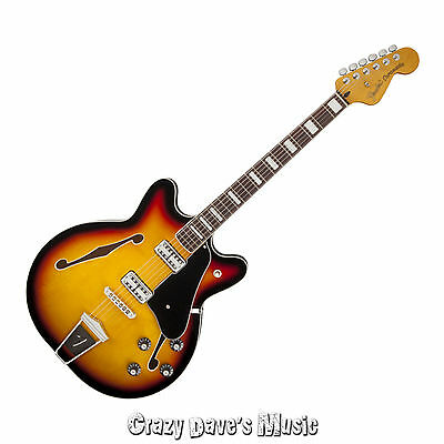 Купить Fender - NEW Fender Coronado 3 Color Sunburst Electric Guitar Rosewood Fretboard