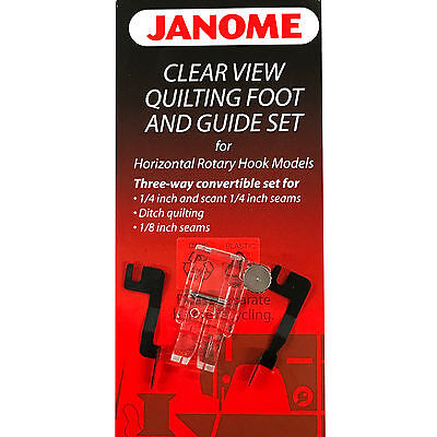 Clear View Quilting Foot And Guide SET #200449001 for Janome Sewing Machines