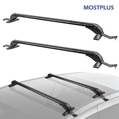 "43"" Universal Car Top Roof Rack Cross Bar Set Luggage Carrie For Chevy Acura"