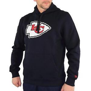 New-Era-NFL-Team-Kansas-City-Sudadera-Con-Capucha-Hombre-color-negro-31378