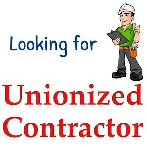 Unionized drywall contractor