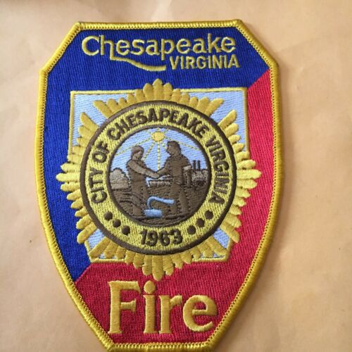 Chesapeake Virginia Fire Patch