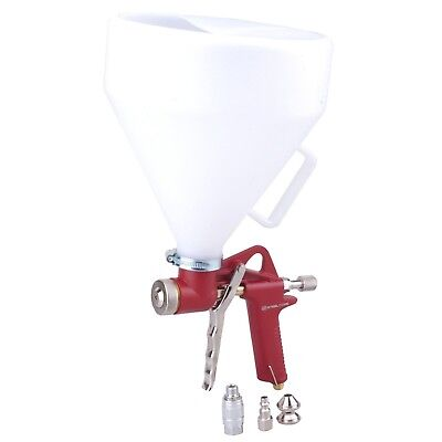 Steel Core Air Hopper Spray Gun Paint Texture Tool Drywall Wall Painting Sprayer