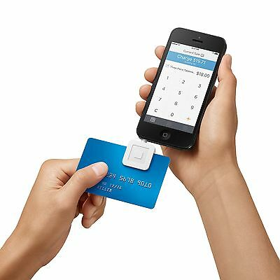 New Square Credit Card Reader For Apple And Android   White
