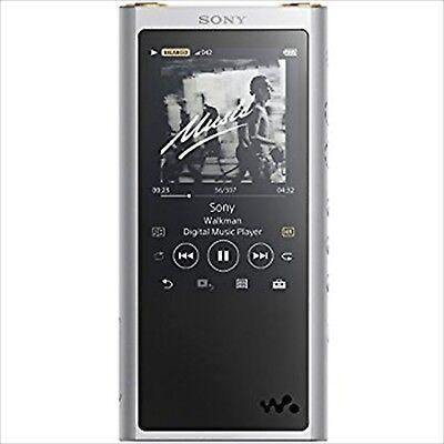 Sony Walkman 64GB Hohe Auflösung Silber NW-ZX300S Zx Serie 2017 Japan Neu