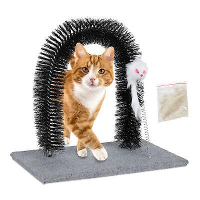 Kratzbogen Fellpflegebogen Katzenminze Massagebogen Spielzeug Enthaarungsbogen