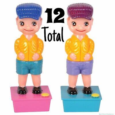 12 Classic Gag Prank - Squirting Wee Wee Pee Boy Water Squirter Toy Joke (1 dz)
